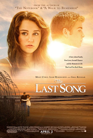 Miley Cyrus Latest Song on Miley Cyrus And Liam Hemsworth Grace   The Last Song   New Poster